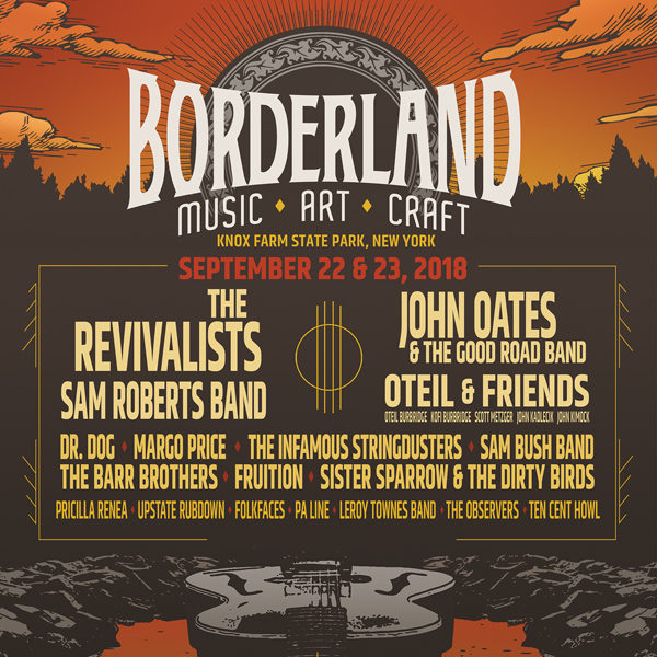 BORDERLAND: A FESTIVAL BEYOND BOUNDARIES - 2018 LINEUP
