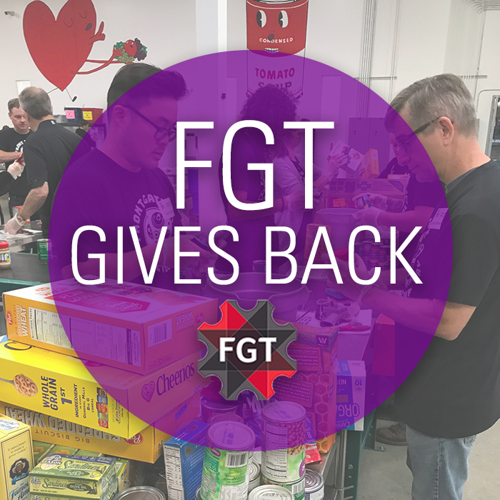 BLOG POST: FRONT GATE TICKETS STAFF SORTING FOOD & GIVING BACK AT CENTRAL TEXAS FOOD BANK