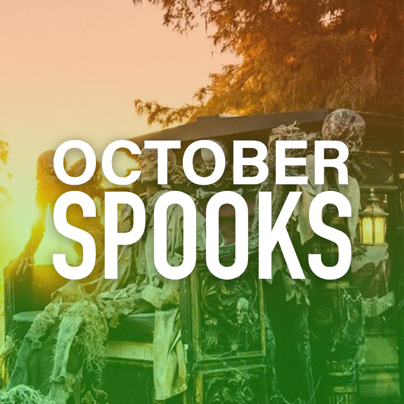 SPOOKY OCTOBER FESTIVALS
